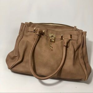 Large tan ALDO bag